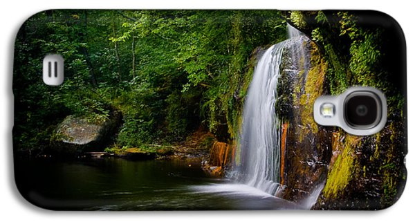 Galaxy S4 Case featuring the photograph Summer At Wolf Creek Falls by Rikk Flohr