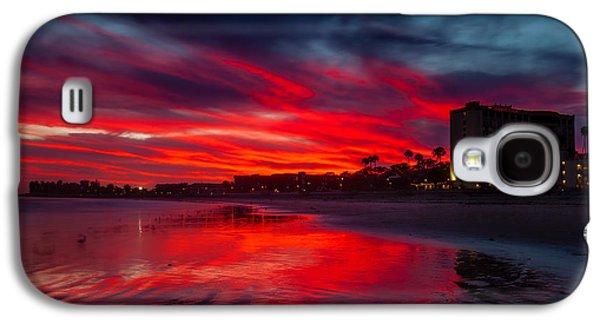 Summer Blaze Galaxy S4 Case by Dan Holmes