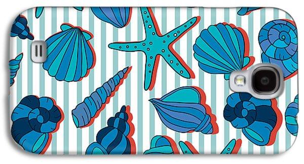 Summer Blue  Galaxy S4 Case by Mark Ashkenazi