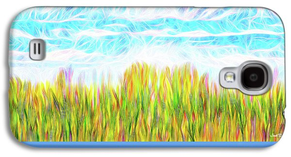 Summer Clouds Streaming Galaxy S4 Case by Joel Bruce Wallach