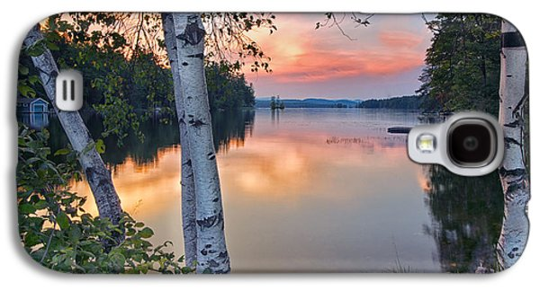 Summer Evening On Highland Lake Galaxy S4 Case