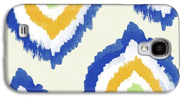 Summer Ikat- Art By Linda Woods Galaxy S4 Case by Linda Woods