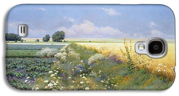 Summer Landscape Galaxy S4 Case
