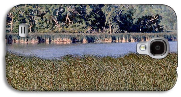 Summer Morning On The Slough Galaxy S4 Case by Bruce Morrison