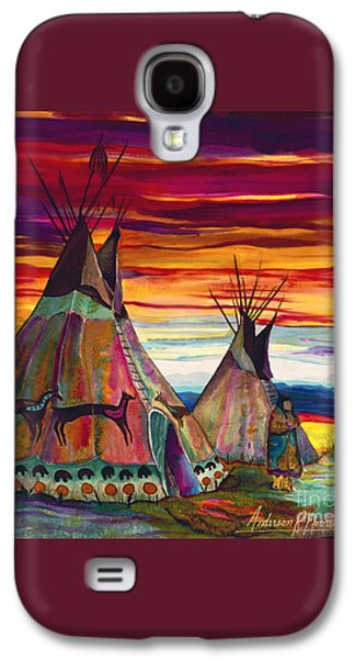 Summer On The Plains Galaxy S4 Case