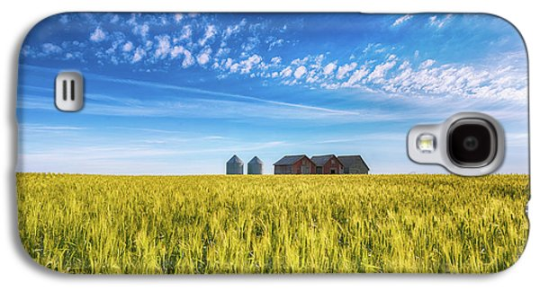 Summer On The Prairies Galaxy S4 Case by Ian McGregor
