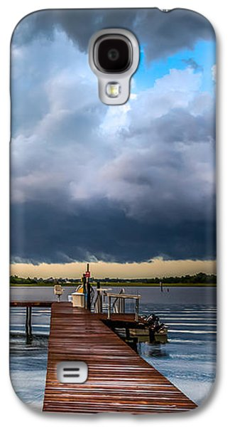 Summer Storm Blues Galaxy S4 Case by Karen Wiles