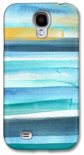 Summer Surf 2- Art By Linda Woods Galaxy S4 Case
