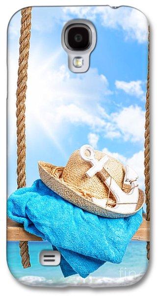 Summer Swing Galaxy S4 Case by Amanda Elwell