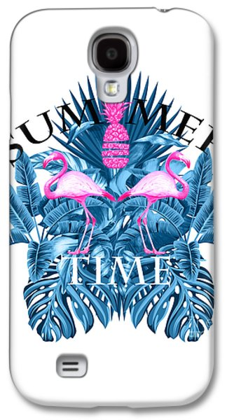 Summer Time Tropical  Galaxy S4 Case by Mark Ashkenazi