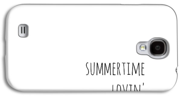 Summertime Lovin Galaxy S4 Case