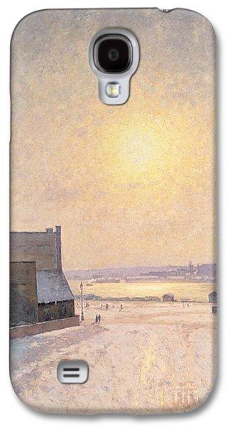 Sun And Snow Galaxy S4 Case