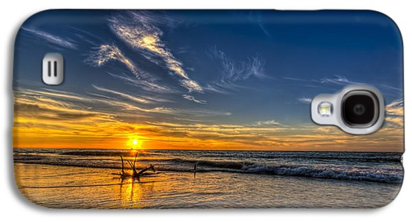Sun And Surf Galaxy S4 Case by Marvin Spates