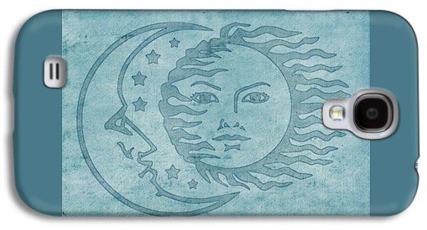 Sun Moon And Stars Galaxy S4 Case by Little Bunny Sunshine