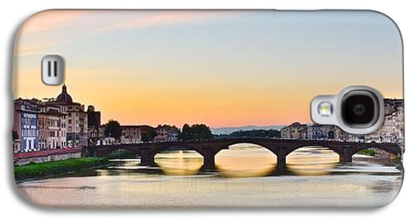 Sun Sets On Florence Galaxy S4 Case