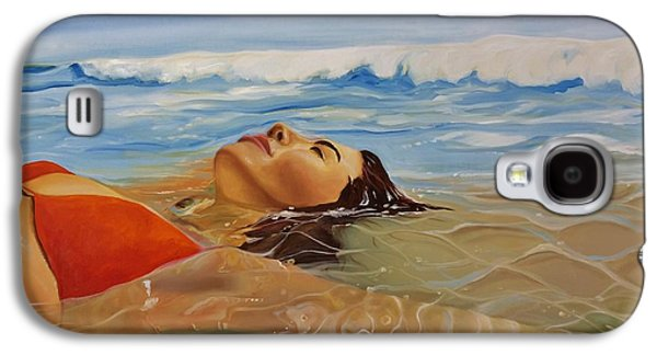Sunbather Galaxy S4 Case by Crimson Shults