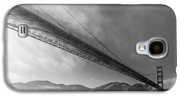 Sunbeams Through The Golden Gate Black And White Galaxy S4 Case