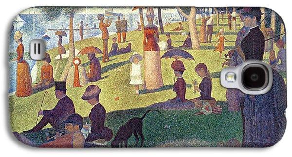 Sunday Afternoon On The Island Of La Grande Jatte Galaxy S4 Case