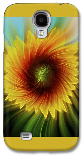 Sunflower Beams Galaxy S4 Case by Terry DeLuco