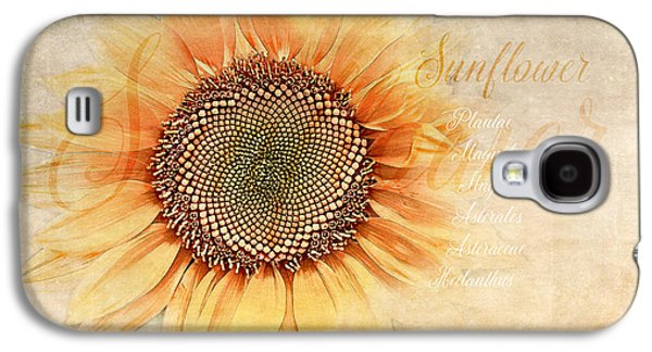 Sunflower Classification Galaxy S4 Case by Terry Davis