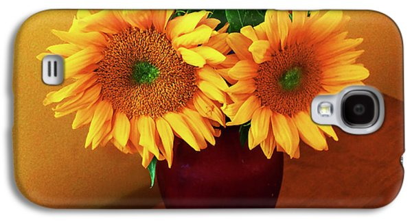 Sunflower Corner Galaxy S4 Case