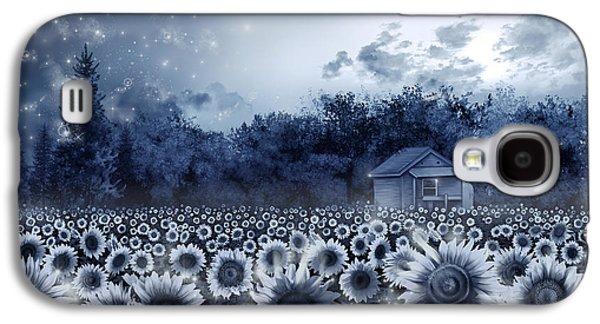Sunflower Field  Galaxy S4 Case