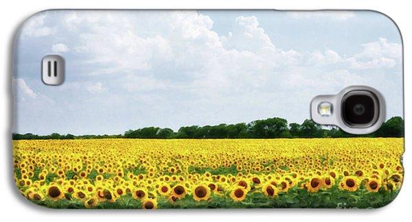 Galaxy S4 Case - Sunflower Field by Tamyra Ayles