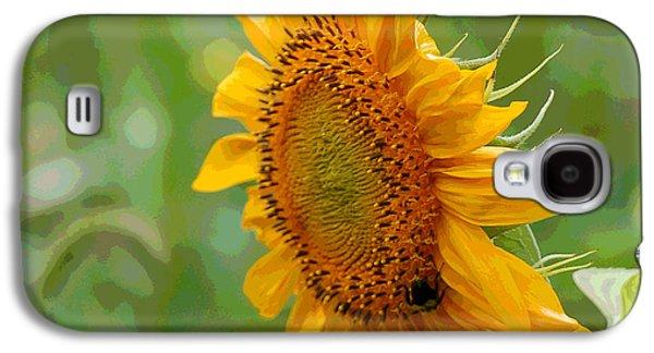 Sunflower Fun Galaxy S4 Case by Suzanne Gaff