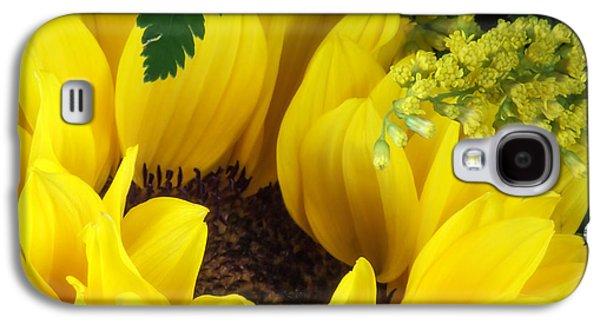 Sunflower Macro Galaxy S4 Case