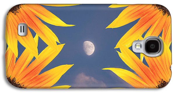 Sunflower Moon Galaxy S4 Case