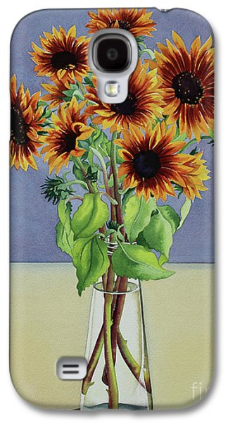 Sunflowers Galaxy S4 Case by Christopher Ryland