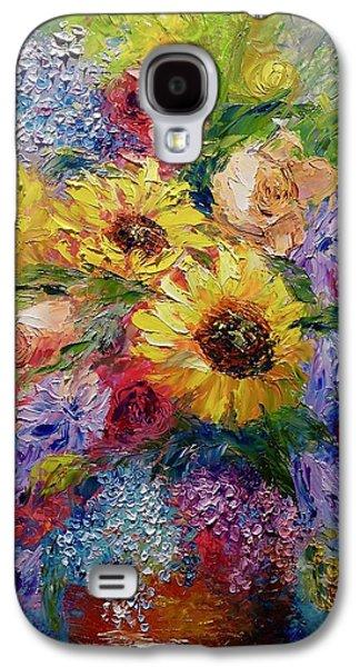 Sunflowers Etc. Galaxy S4 Case by Marina Wirtz