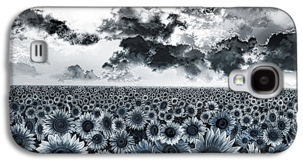 Sunflowers Filed 2 Galaxy S4 Case