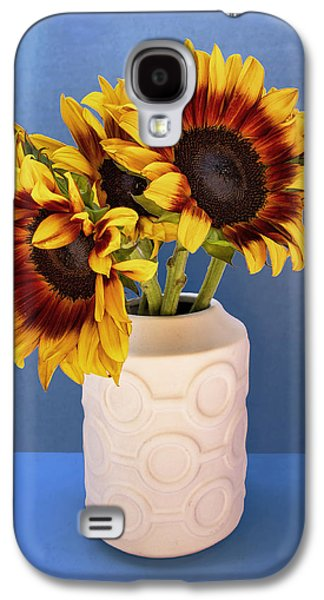 Sunflowers In Circle Vase Tournesols Galaxy S4 Case