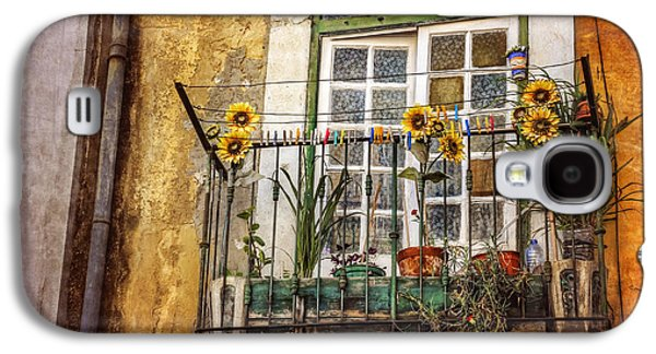 Sunflowers In The City Galaxy S4 Case