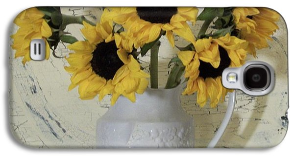 Sunflowers In The Country Galaxy S4 Case