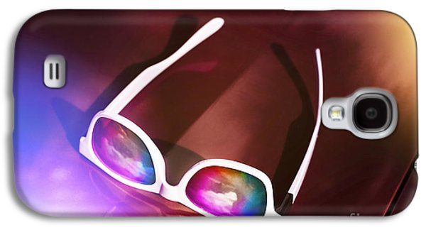 Sunglasses On Car Bonnet. 1980s Road Trip Galaxy S4 Case by Jorgo Photography - Wall Art Gallery