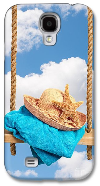 Sunhat On Swing Galaxy S4 Case by Amanda Elwell