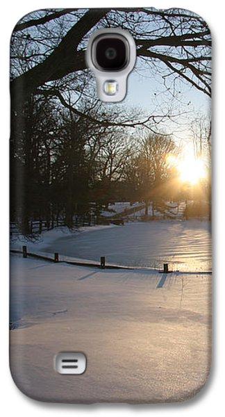 Sunlight On A Frozen Pond  Galaxy S4 Case
