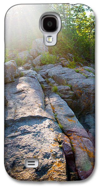 Sunlight On Cove Point Galaxy S4 Case by Alex Blondeau