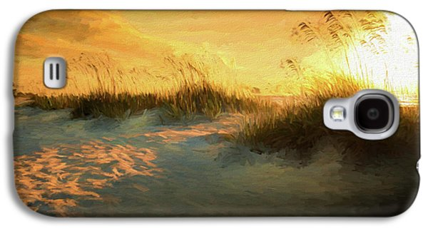 Sunlight On The Dunes Galaxy S4 Case by Marvin Spates