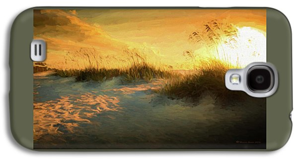 Sunlight On The Dunes Galaxy S4 Case