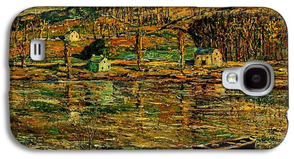 Apollo Theater Galaxy S4 Case - Sunlight On The Harlem River 1919 by Peter Gumaer Ogden