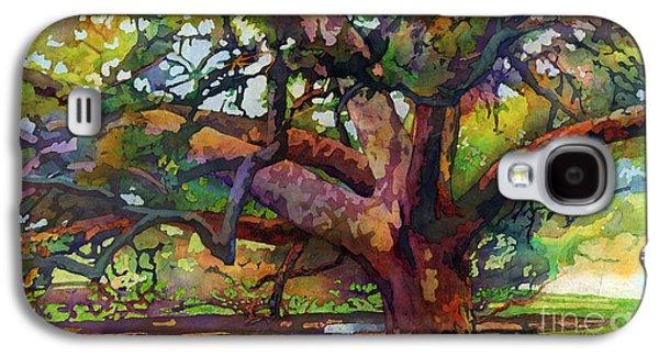 Sunlit Century Tree Galaxy S4 Case by Hailey E Herrera