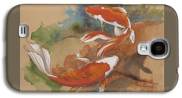 Sunlit Goldfish Galaxy S4 Case by Tracie Thompson