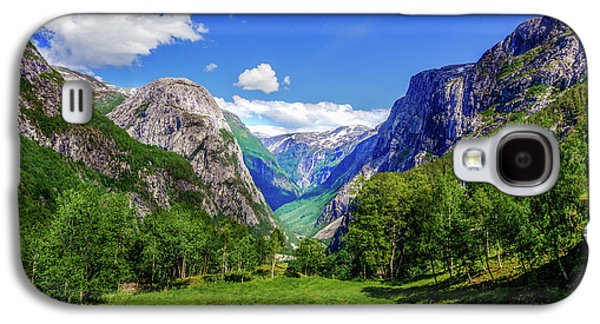 Sunny Day In Naroydalen Valley Galaxy S4 Case