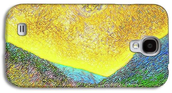 Sunny Trail - Marin California Galaxy S4 Case by Joel Bruce Wallach