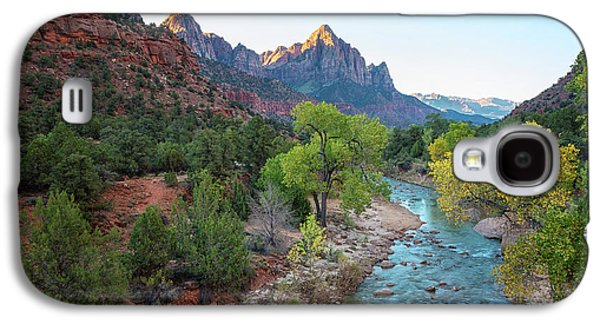 Sunrise At The Watchman - Zion National Park - Utah Galaxy S4 Case