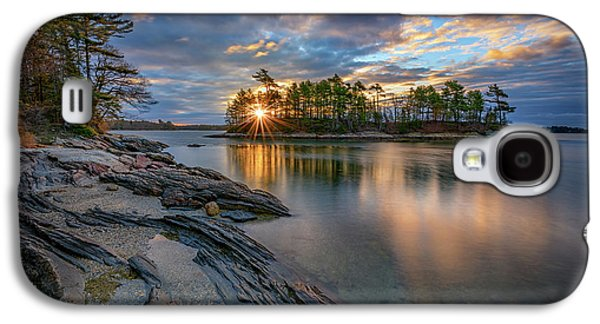 Sunrise At Wolfe's Neck Woods Galaxy S4 Case by Rick Berk