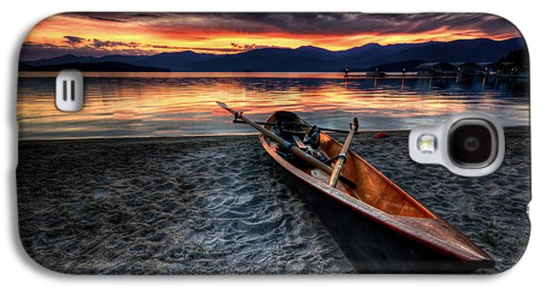 Sunrise Boat Galaxy S4 Case by Matt Hanson